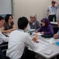 東南アジア現地法人対象の研修会で討論を重ねる