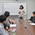 事業プランを発表し合うビジネスモデル勉強会