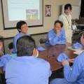全国労働衛生週間中に保健師による職場研修を実施