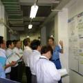 拠点横断の生産力相互診断で課題を見える化
