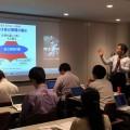近藤社長が講師となり毎週「社長塾」を開催