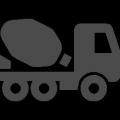 ミキサー車アイコン
