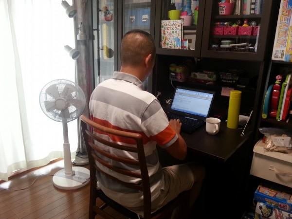 管理職も積極的に在宅勤務に取り組んでいる