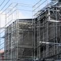 建設 建築 足場 マンション