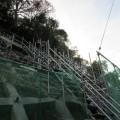 建設 工事 土木 階段 崖