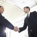 契約 合意 協定 提携 握手 外国人