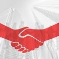 契約 合意 協定 提携 握手