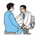 サラリーマン 医者 病気 診察 治療 健診