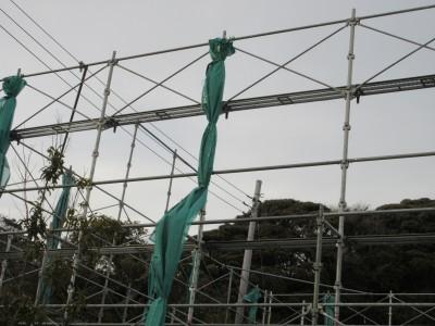 鉄骨 足場 建設業