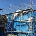 建設業 足場 墜落