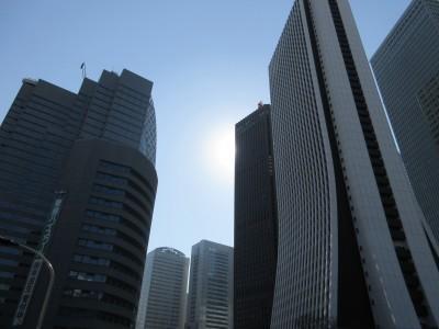 新宿 西新宿 オフィス街