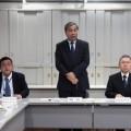 運動の趣旨を説明する福澤局長(写真中央)