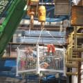 建設業 クレーン カゴ バケット