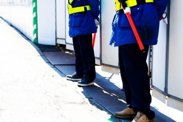 警備員 交通誘導