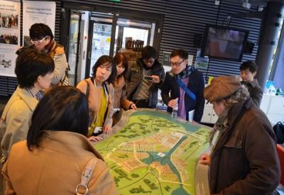 ストックホルムでは都市開発計画について学んだ