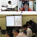 総合演習の授業に遠隔地から初のWeb参加