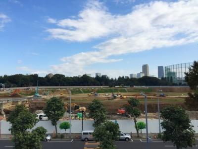 医師や看護師が常駐 下請へ労働時間情報提供 大成建設・新国立競技場現場で