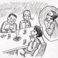 ただいま深夜の交渉中…… イラスト 吉川 泰生