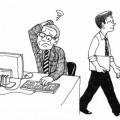 慣れない作業のうえ、非協力的な社員も