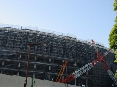 東京五輪の建設現場 効率ダウンの面も BWIが労働者を調査