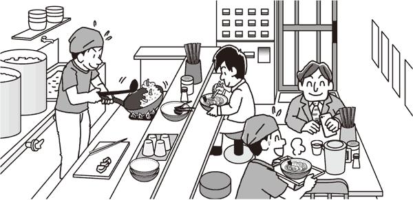 飲食店にも色々な場所にケガの危険が